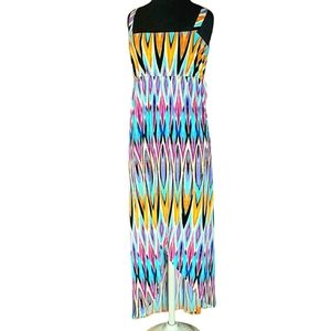 Nicole by Nicole Miller Women's Tribal Maxi Dress